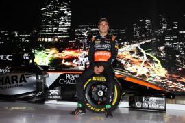 Sergio Pérez continuará con Force India en el 2016