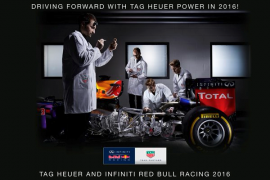 TAG Heuer se une al equipo Red Bull
