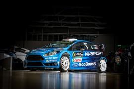 El M-Sport World Rally Team da a conocer los nuevos colores del Ford Fiesta RS WRC