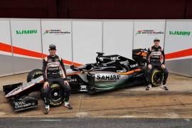 Se presentó el nuevo VJM09 con el que correrá Sergio Pérez