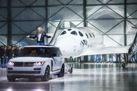 Land Rover Participa en la presentación del Virgin Galactic SpaceShipTwo