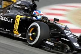 Infiniti culmina primeras pruebas con Renault Sport F1 Team
