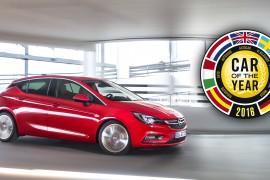 "GINEBRA, Opel/Vauxhall Astra nombrado ""Auto del año europeo"""