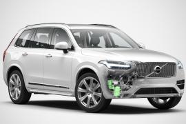 Volvo anuncia XC90 híbrida: circula todos los días