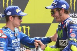 Viñales será compañero de equipo de Rossi durante las dos próximas temporadas.