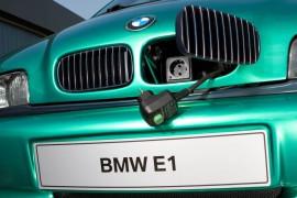 BMW E1, nos sorprendió con tecnología eléctrica desde 1991