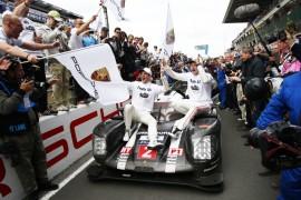 Porsche consigue su victoria No. 18 en las 24 Horas de Le Mans
