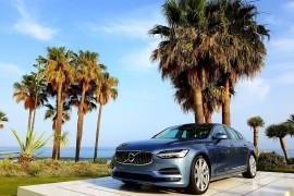 Volvo S90 prueba internacional de manejo