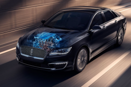 Lincoln ofrece el MKZ híbrido en México