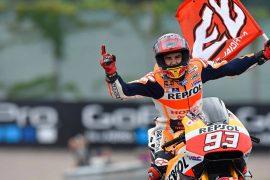 Magnífica victoria de Márquez en Alemania