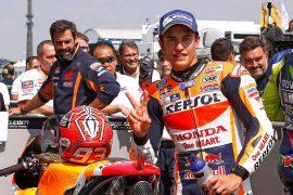 Márquez se impone con la pole en Sachsenring