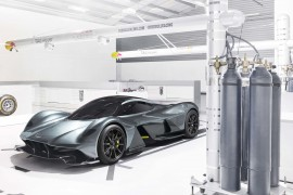 Aston Martin + Red Bull = AM-RB 001
