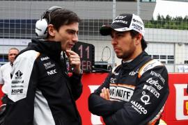 Checo Pérez, confiado para Silverstone