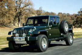 Jeep Wrangler Pick Up, cada vez más cerca