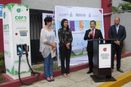 Nissan de México con más estaciones de recarga eléctrica