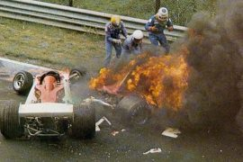 Se cumplen 40 años del terrible accidente de Lauda en el Nordschleife