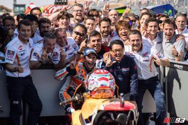 Márquez, más cerca del título tras su victoria en Aragón