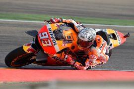 Pole position para Márquez en Aragón