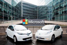 La Alianza Renault-Nissan y Microsoft se asocian