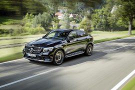 Todo listo para volar: Mercedes-Benz AMG GLC43 Coupe