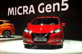 Auto Show de París: Nissan Micra Gen5