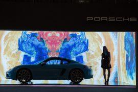 Una obra de arte contemporáneo: 718 Cayman de Porsche
