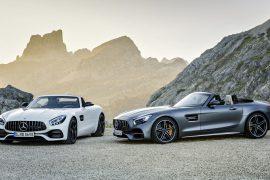 ¡Potencia al descubierto! Mercedes-Benz AMG GT C Roadster