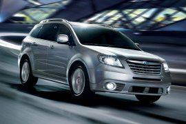 Subaru ya prueba SUV de tres filas