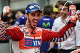 MotoGP: Dovizioso sorprende en Sepang con la Pole Position