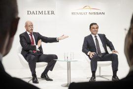 Unen fuerzas, Daimler y la Alianza Renault-Nissan