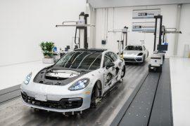 Porsche Panamera con nuevos estándares de producción