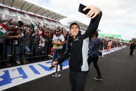 Calientan las emociones en el Gran Premio de México