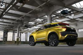 Auto Show de los Ángeles 2016, Mitsubishi eX y el futuro eléctrico