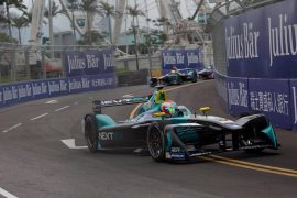 La Fórmula E hace su debut en África.