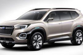 Auto Show de Los Ángeles 2016: Subaru VIZIV-7 SUV Concept