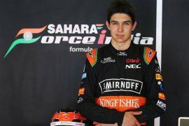 Esteban Ocon y Sergio Pérez: la nueva dupla de Force India