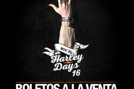 ¡¡¡A rodar, a rockear!!! Harley-Days 2016