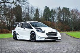 M-Sport presentó el nuevo Ford Fiesta WRC