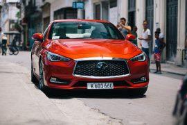 Un paseo por La Habana: Infiniti Q60 400 Sport