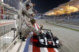 Porsche presenta a sus nuevos pilotos 2017