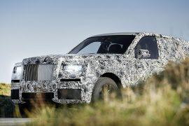 Ahí viene: Rolls Royce SUV