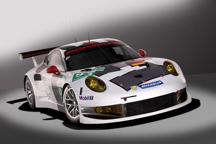 Porsche 911 RSR 2013 ¡Bandera verde!