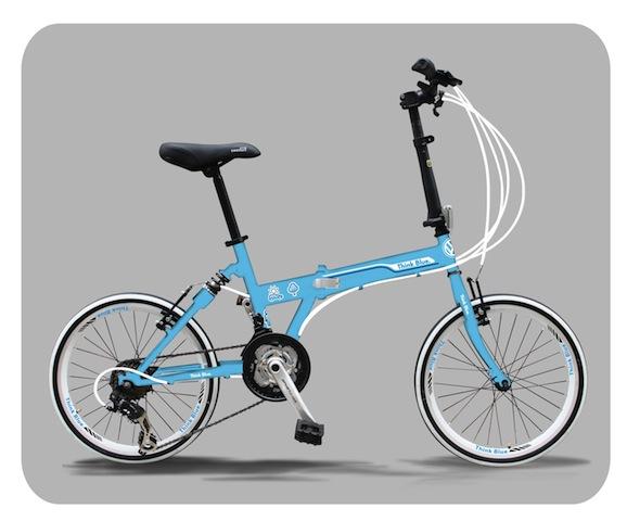 Volkswagen y el movimiento con las bicicletas Think Blue