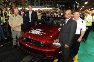 1 millionth Mustang Celebration at Flat Rock Assembly Plant