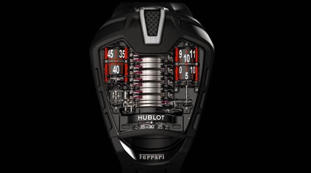 Hublot MP-05 LaFerrari, una joya de la relojería