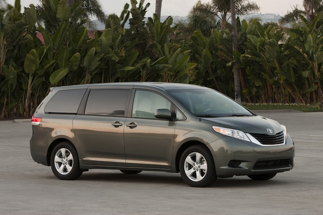 Toyota SIENNA,  la minivan más querida de México