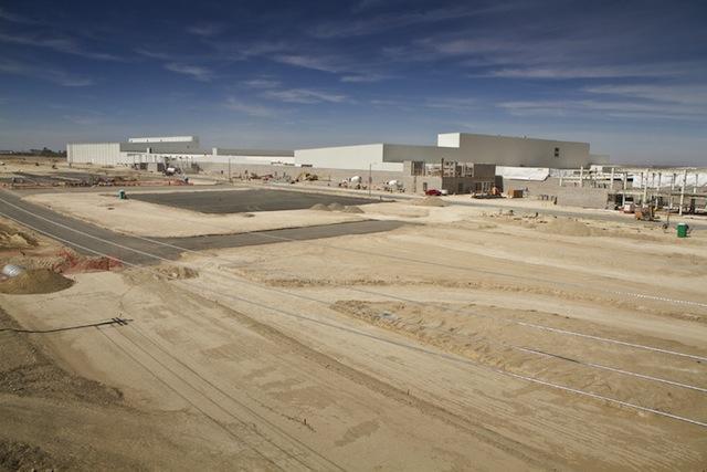 Nueva planta de Nissan en Aguascalientes casi lista