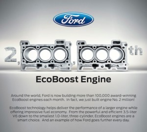 Two Millionth EcoBoost Engine