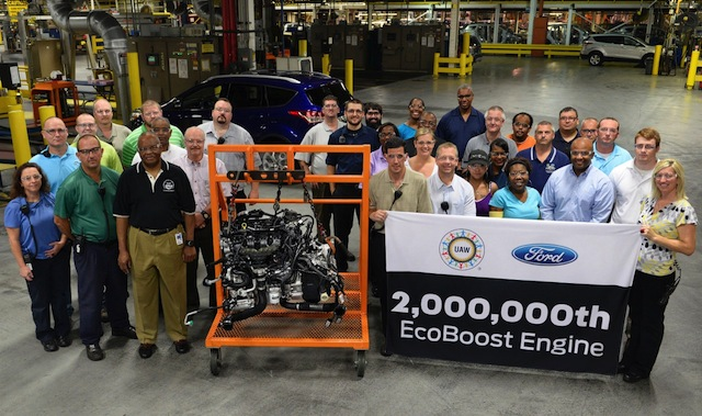 Ford produce su motor EcoBoost # 2 millones