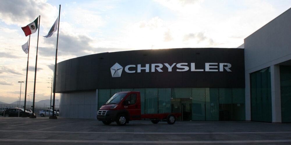 Las fotos de las plantas de ensamble de Chrysler de México